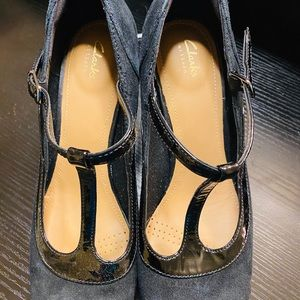 Clark's babydoll shoes